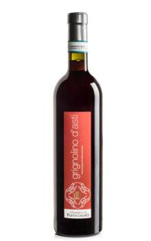 bottiglia di vino rosso grignolino