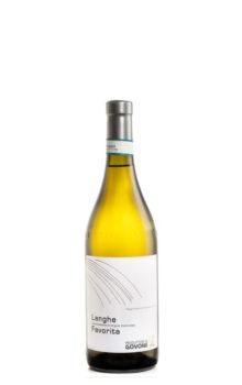 bottiglia di vino bianco favorita
