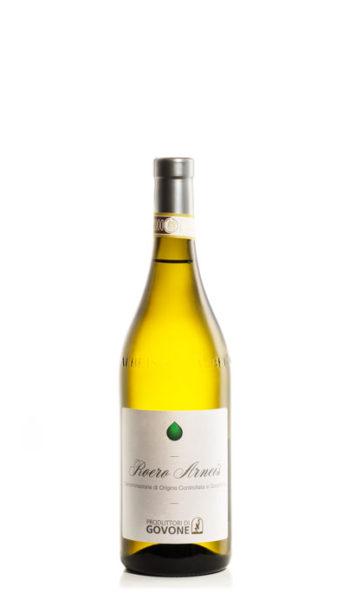 bottiglia di vino bianco roero arneis