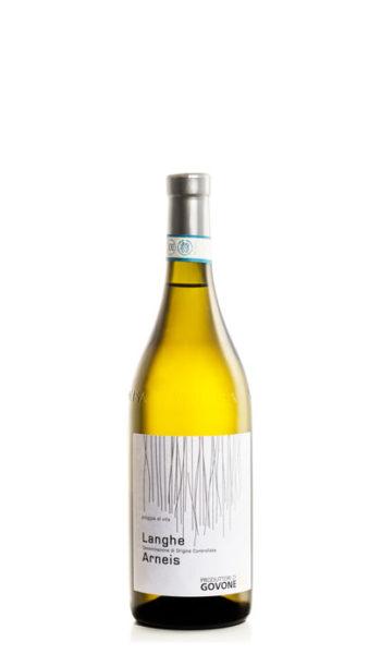 bottiglia di vino bianco arneis