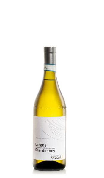 bottiglia di vino bianco chardonnay
