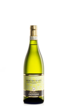 bottiglia di vino bianco dolce moscato