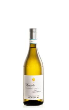 bottiglia di vino langhe bianco