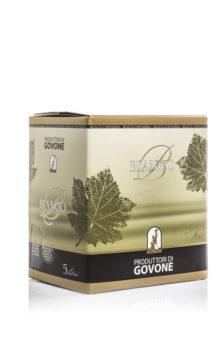 vino bianco in bag in box dei Produttori Di Govone